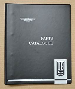 Aston Martin Db5 Parts Catalog Factory Issue