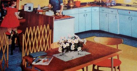 Home Interior Youngstown : 1950s Home Decor Ad Youngstown Kitchens Original 1955