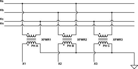 delta wye transformer neutral electrical engineering stack exchange