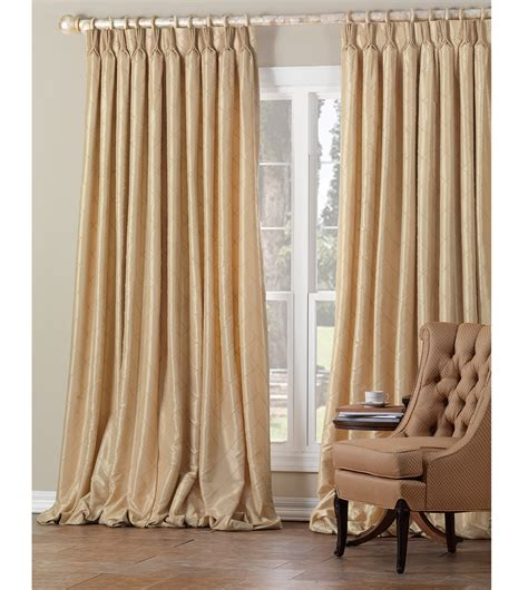 Gold Drapery Panels - luxury bedding by eastern accents chester gold curtain panel