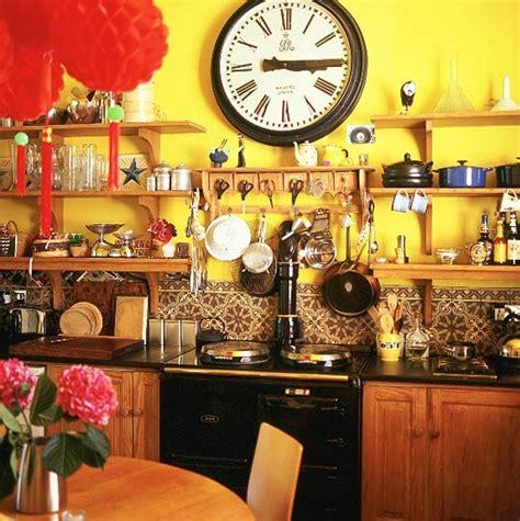 deco cuisine orange déco cuisine jaune et orange