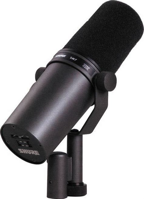 Shure SM7B Vocal Microphone Large Diaphragm Cardioid ...