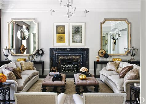 decorating  mirrors  architectural digest