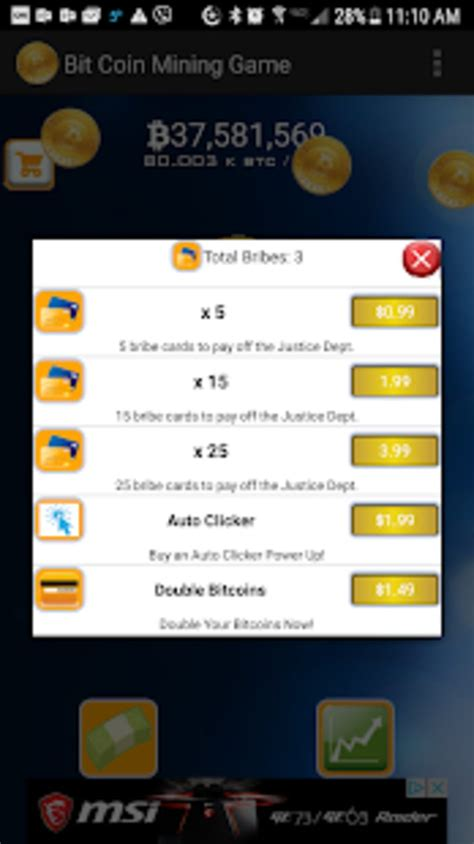 How about a game of virtual bitcoin mining were you can actually earn real bitcoins as rewards? Bitcoin Mining Game Premium APK for Android - Download