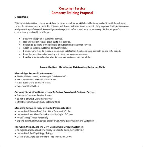 Company Trip Proposal Template by 35 Training Proposal Templates Pdf Doc Free