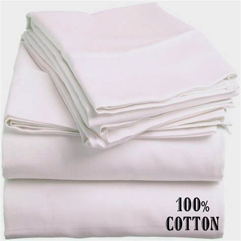 1 new white king size hotel fitted sheet 78x80x12 200