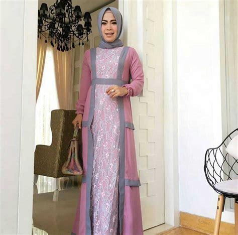 model gamis terbaru setelan hijab modern cantik ryn