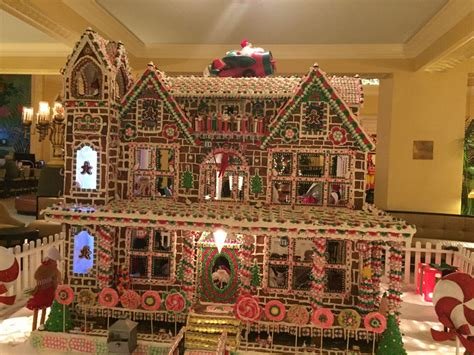 gingerbread house  arlington hotel  photo