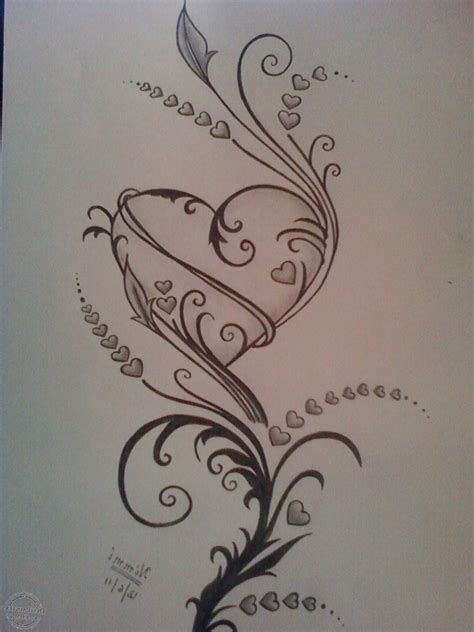 Best Cool Heart Drawings Ideas And Images On Bing Find What You