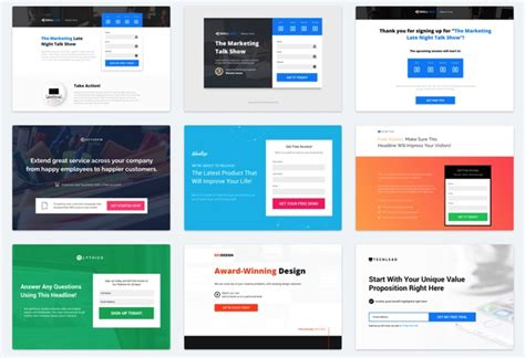 instapage templates instapage review how does it stack up to leadpages