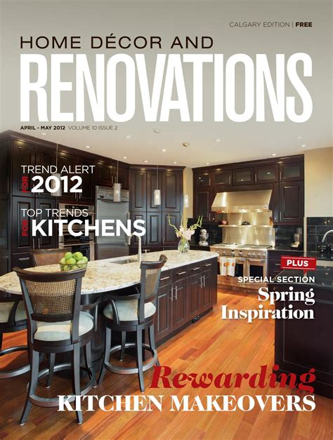 Calgary Home Décor And Renovations  Aprmay 2012 By