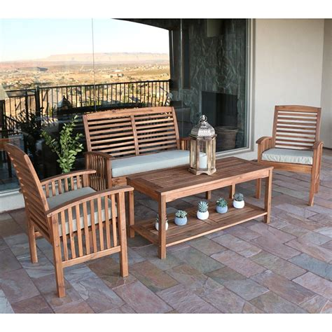 acacia wood outdoor furniture  buying guide