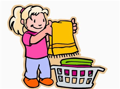 Boy Picking Up Toys Clipart