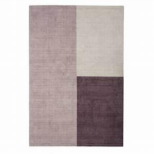 Tapis Forme Geometrique : tapis moderne aux formes g om triques tons gris en laine ~ Teatrodelosmanantiales.com Idées de Décoration