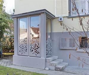 Vorbau Für Hauseingang : metall werk z rich ag windfang abschluss mit ornamenten ~ Sanjose-hotels-ca.com Haus und Dekorationen