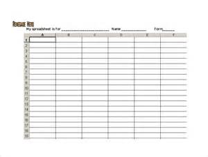 Excel Sheet Templates Blank Spreadsheet Template 21 Free Word Excel Pdf Documents Free Premium