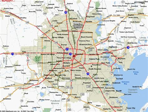 cool map  houston texas travelsmaps   houston