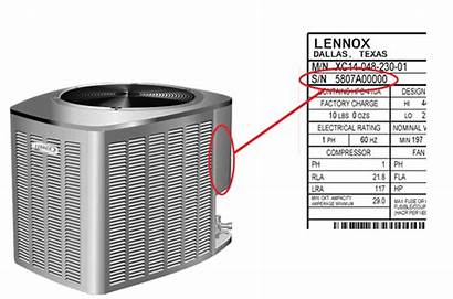 Serial Number Lennox Numbers Air Unit Age