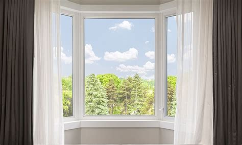 ways  hang bay window curtains overstockcom
