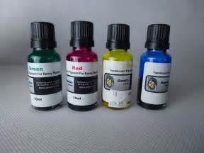 woodturning  epoxy resin translucent pigment