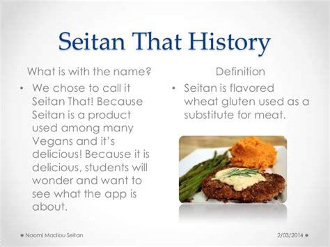 what is seitan seitan that