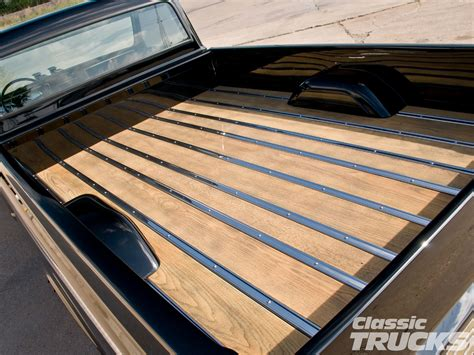 wooden truck bed 301 moved permanently
