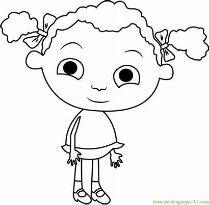 Franny Coloring Feet Pages Frannys Coloringpages101