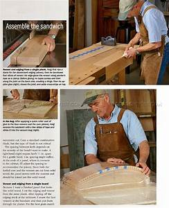 Making Curved Wood Panels for Furniture • WoodArchivist
