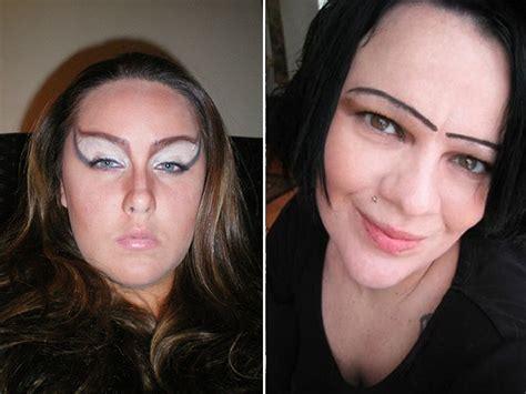 horrible makeup fails