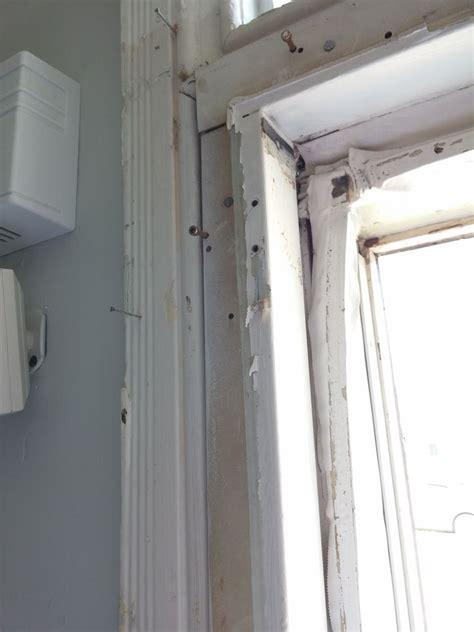 replace exterior door casing   house home
