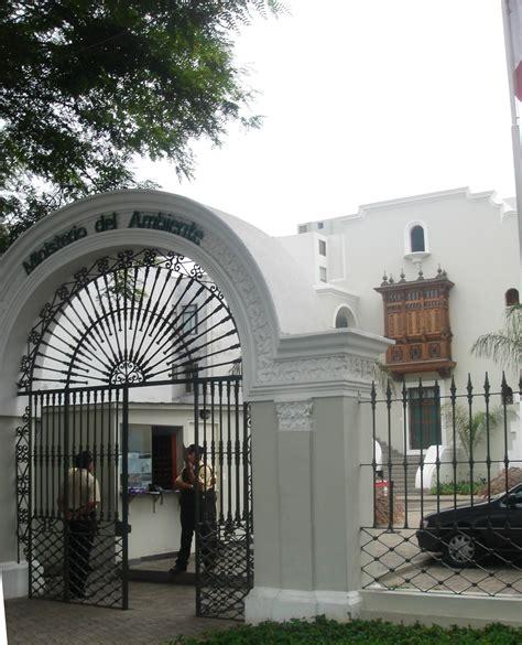Ministerio Del Ambiente Del Perú  Wikipedia, La