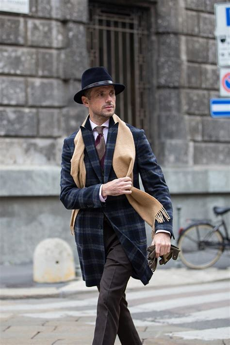italian gentleman dress mens hat street suits milan stylish hespokestyle rome classic pants guide outfit ll wearing put coat hard