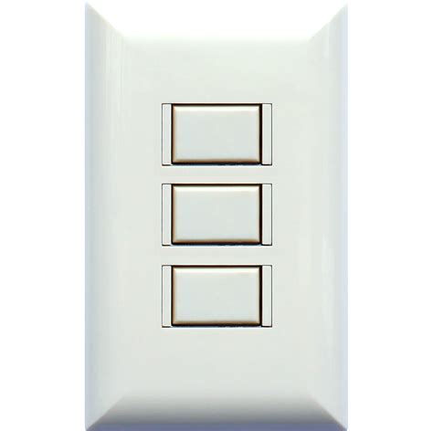 5000 series wall switch touch plate lighting controls