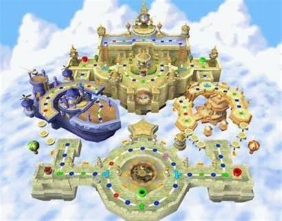 Mario Castle Clockwork Tablero Mejor Boards Night
