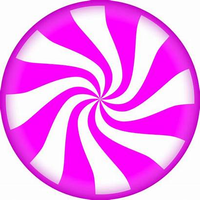 Candy Clipart Peppermint Transparent Clip Round Swirl