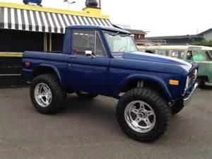 Ford Bronco Half Cab