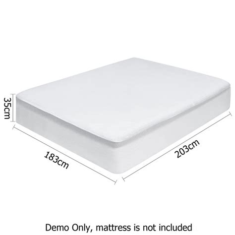 king size mattress protector king size bamboo waterproof mattress protector buy king
