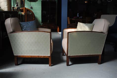 deko furniture pair of art deco fireside chairs cloud 9 art deco