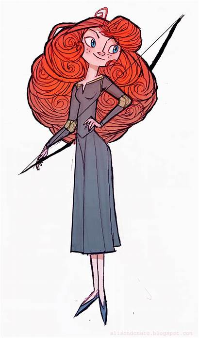 Merida Brave Disney Fan Princess Deviantart Character