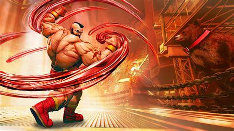 Street Fighter V Official Game Art