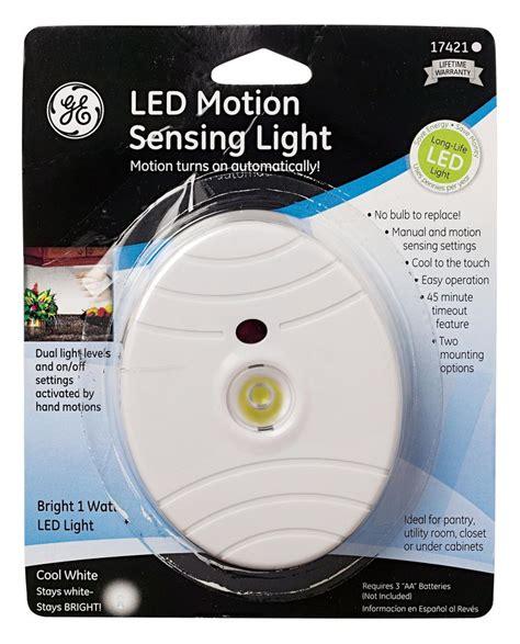 Battery Operated Cabinet Lighting Menards by Led Motion Sensing White Finish Wall Mountable Light