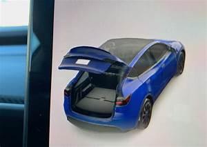 Tesla Model Y 7-Seat Folded 3rd Row Rear Seats (Photo: Teslarati) - TESLARATI