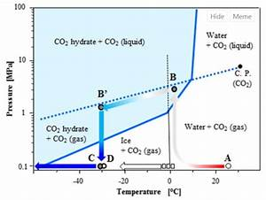 Solved  Based Off Of The Phase Diagram Of Co2 In Water Giv