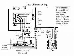 Blower Motor Wiring 1972  Pre-resistor Plug