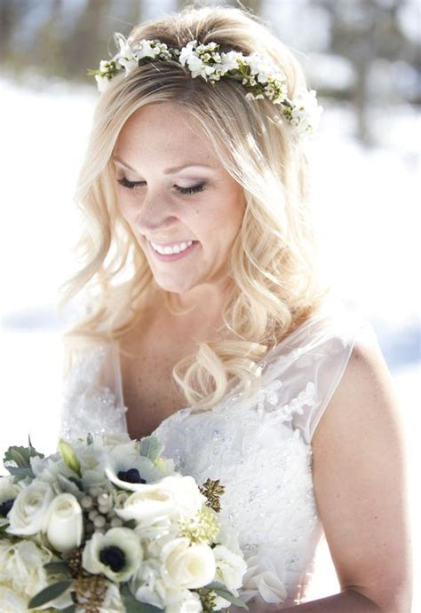 32 Winter Bridal Crowns That Will Make Your Look Gorgeous
