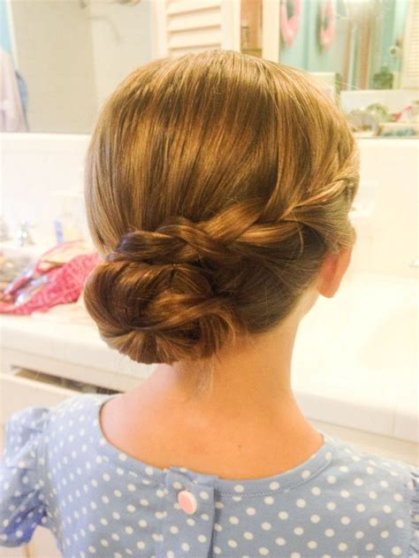 Hairstyles For With by Children S Hairstyles Up Do Blond Hair Braided Up