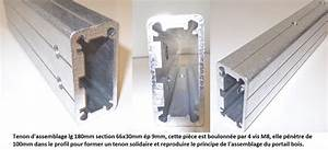 Fabriquer Tenon Mortaise : portail aluminium proc d s d 39 assemblage le portail alu ~ Premium-room.com Idées de Décoration