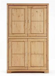 Eckregal Kiefer Massiv Gelaugt Geölt : massivholz highboard wohnzimmerschrank kiefer natur ~ Indierocktalk.com Haus und Dekorationen