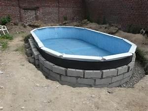 Enterrer Une Piscine Hors Sol : j 39 enterre ma piscine hors sol piscines r alisations ~ Melissatoandfro.com Idées de Décoration