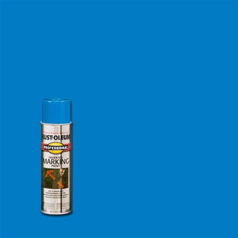 rust oleum 15 oz professional marking spray paint 2524838 the home depot